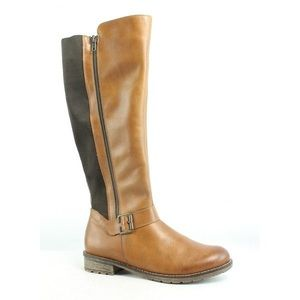 Rieker Elaine 58 Brown Riding Boots by Remonte